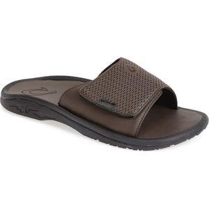 """OluKai """"Kekoa"""" Slide Sandals"""